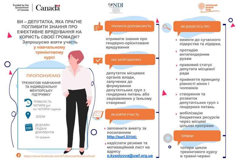 infographic elected women1 - Тренінговий курс для депутаток місцевих рад