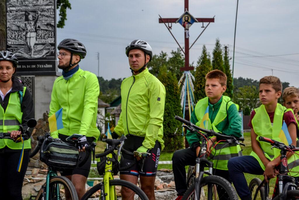 234459205 3754283554797856 5874433123894474934 n 1024x683 - Стежками Незалежності України велосипедисти об'єднали Рівненщину і Тернопільщину