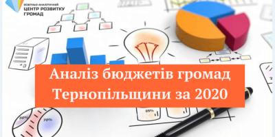 Аналіз бюджетів громад Тернопіщини за 2020 рік (1)